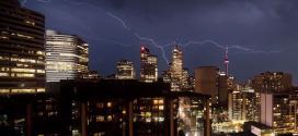 رعد و برق در تورنتو